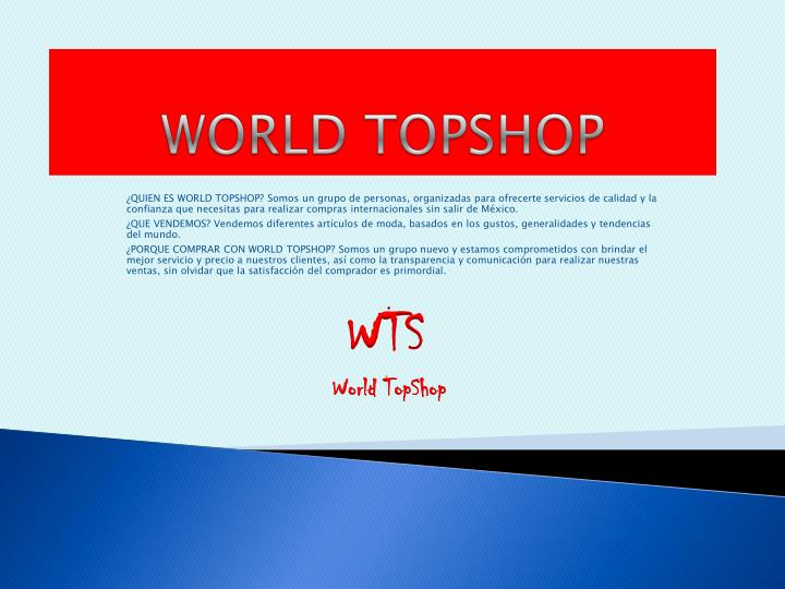 World topshop