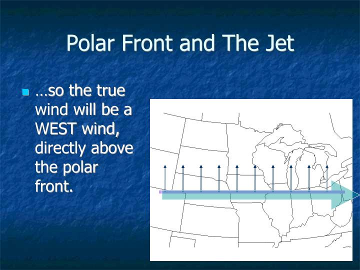 Polar Front and The Jet