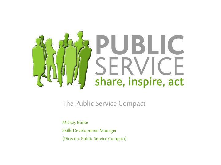 The Public Service Compact