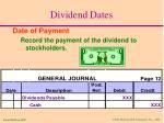 dividend dates2