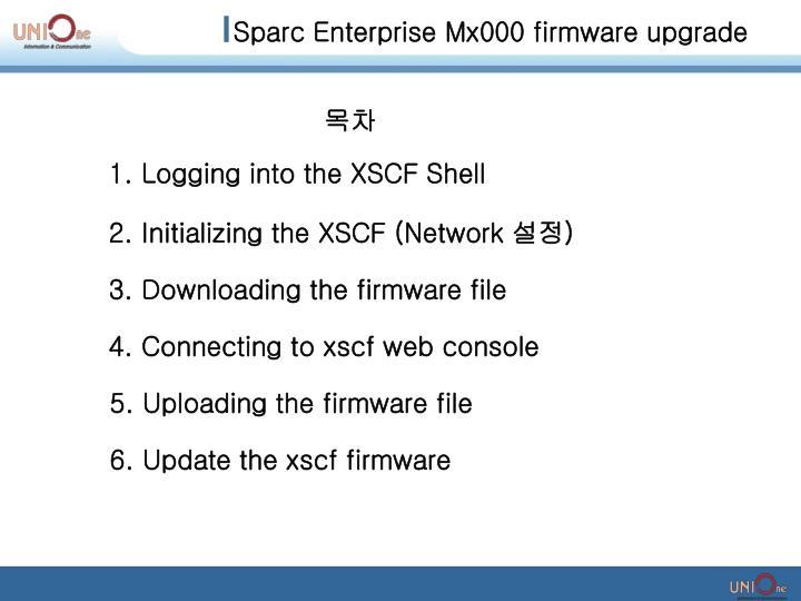 Sparc Enterprise Mx000 firmware upgrade