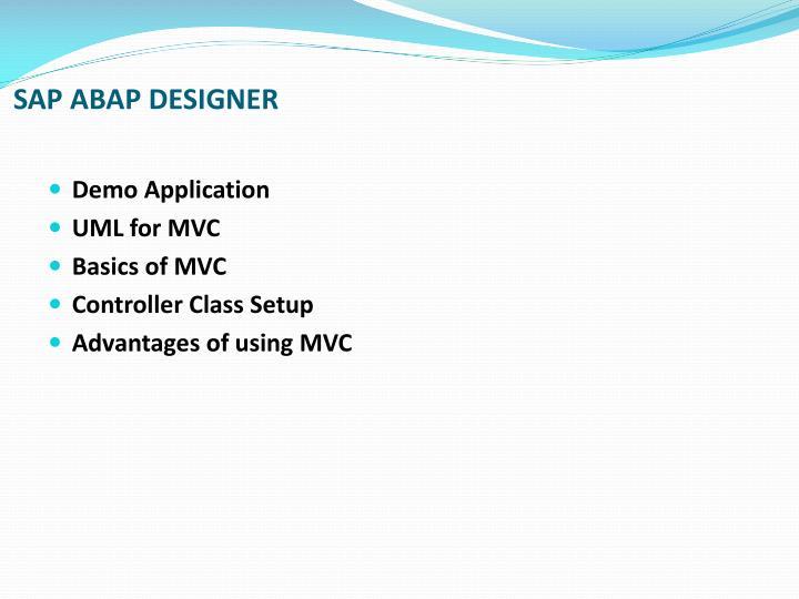 SAP ABAP DESIGNER