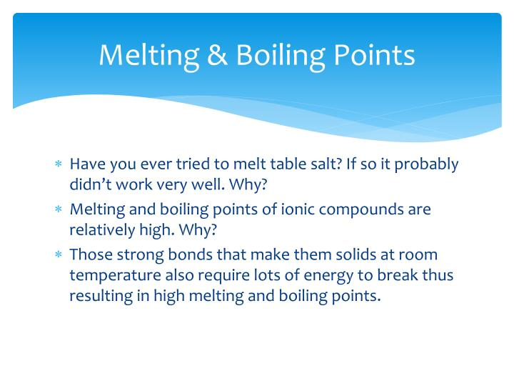 Why Are Ionic Compounds Brittle At Room Temperature