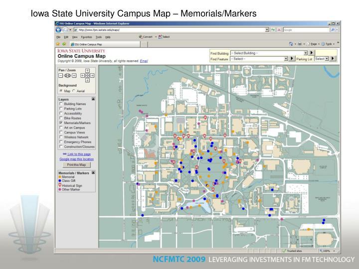 iowa state university campus map pdf