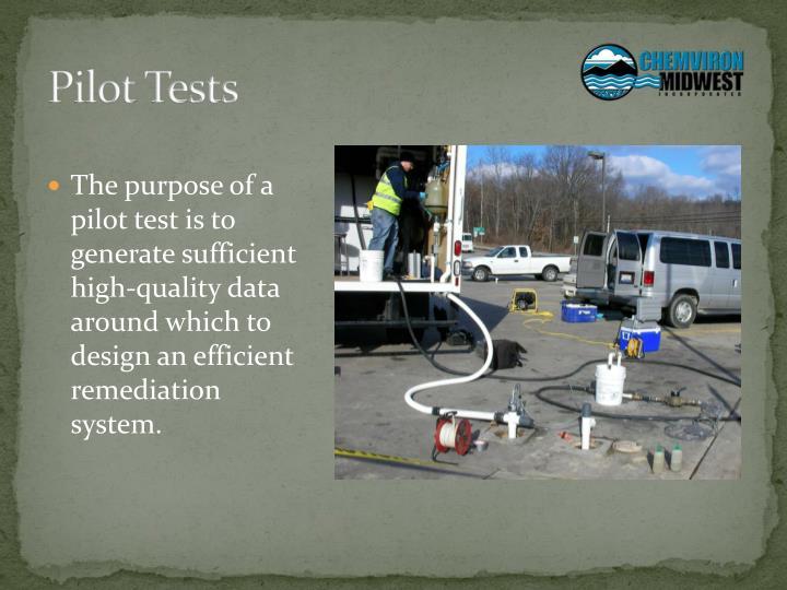 Pilot Tests