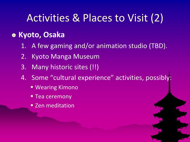 Activities & Places to Visit (2)