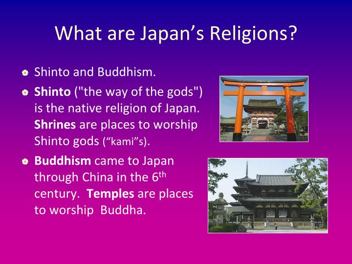 What are Japan's Religions?