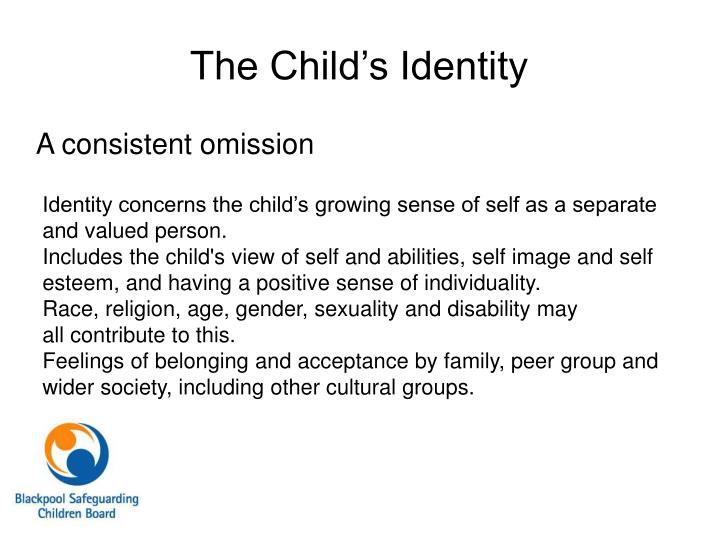 The Child's Identity