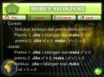 modus silogisme1