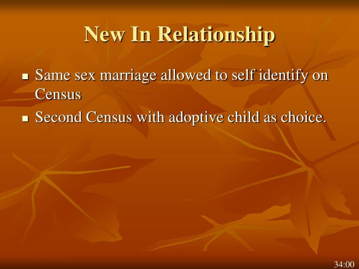 New In Relationship