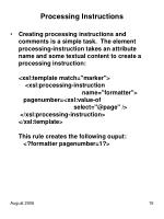 processing instructions