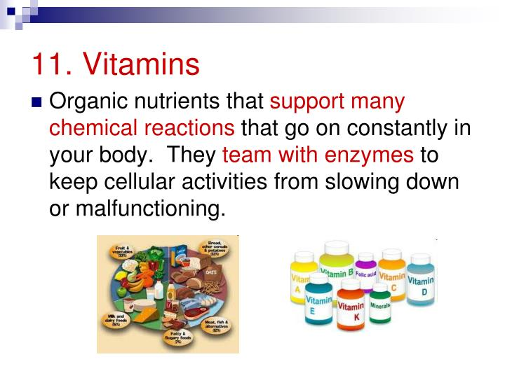 11. Vitamins