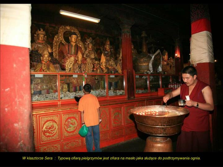 W klasztorze