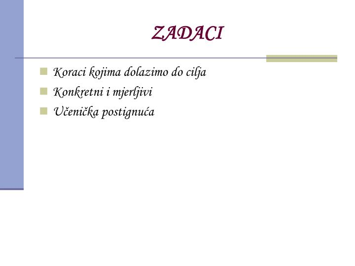 ZADACI