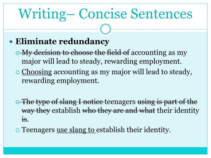 succinct essay