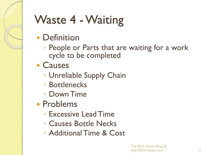 Waste 4 - Waiting