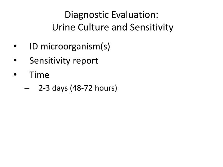 Diagnostic Evaluation: