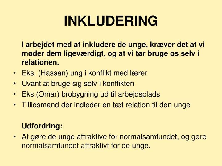 INKLUDERING