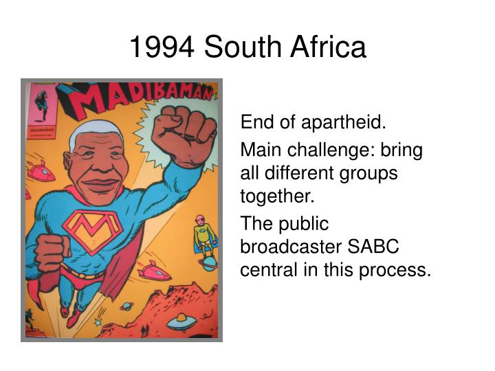 1994 South Africa
