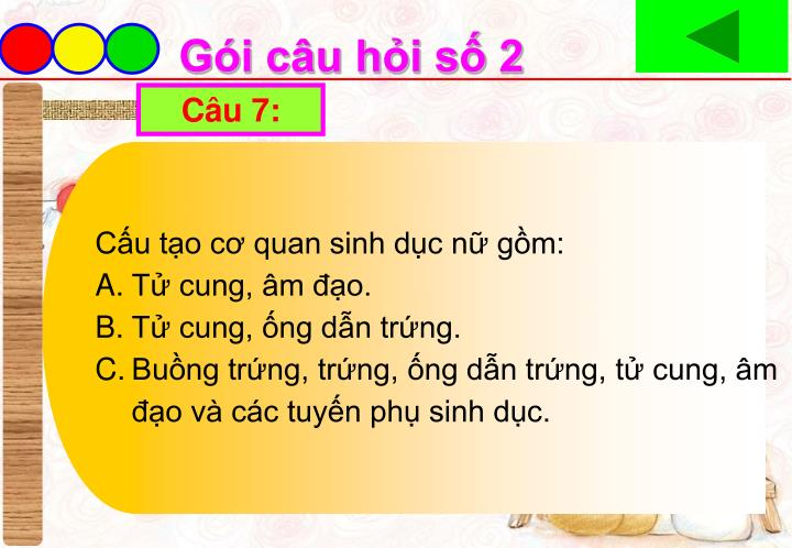 Câu 7: