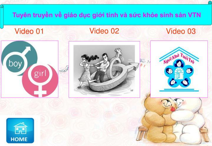 Tuyên truyền về giáo dục giới tính và sức khỏe sinh sản VTN