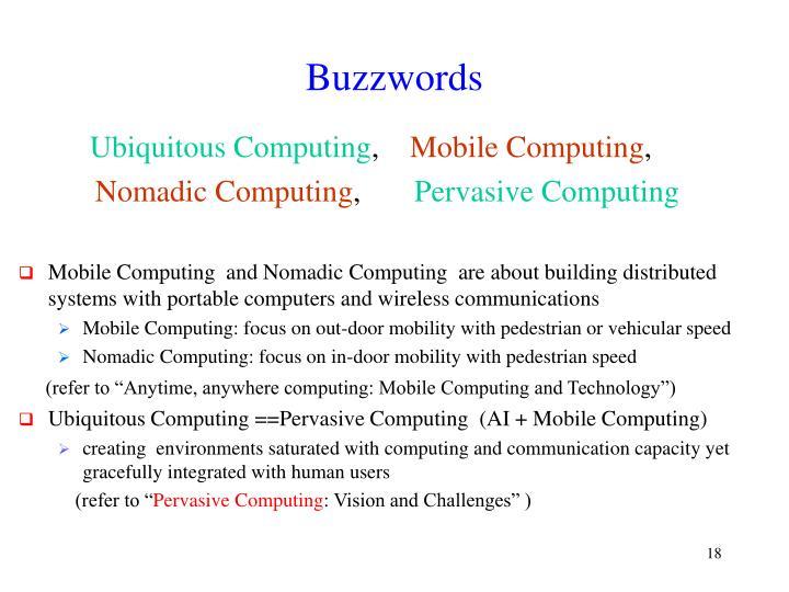 Buzzwords