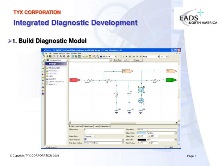 Integrated Diagnostic Development