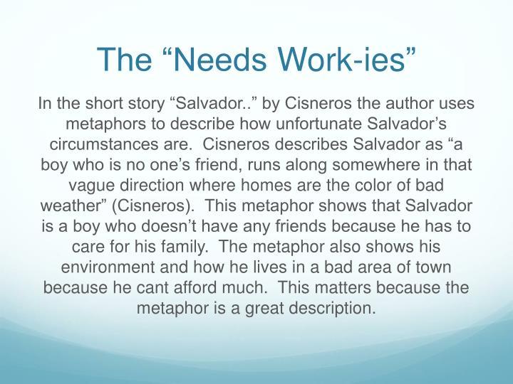 """The """"Needs"""