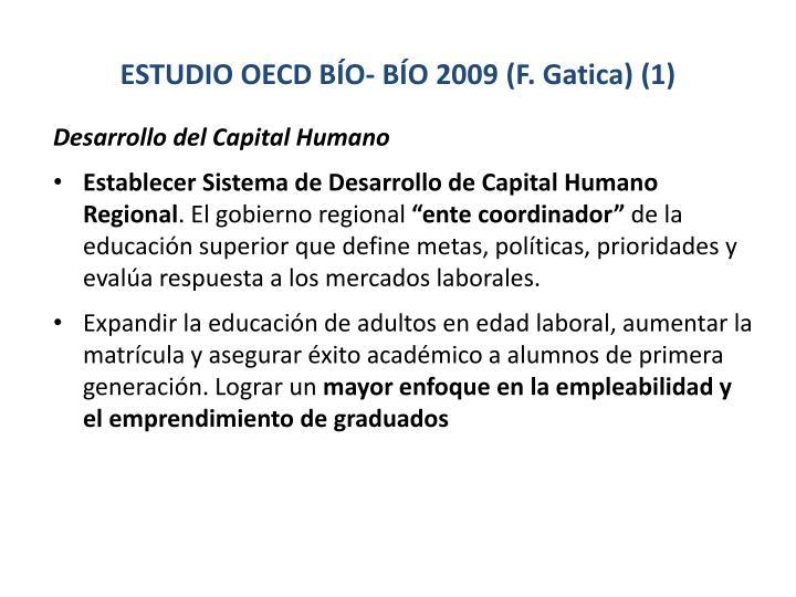 ESTUDIO OECD BÍO- BÍO