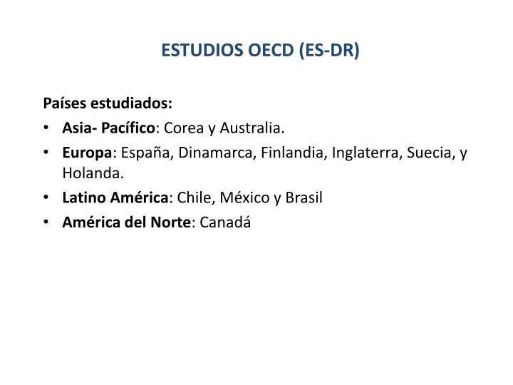 Países estudiados: