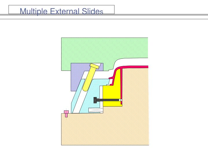 Multiple External Slide