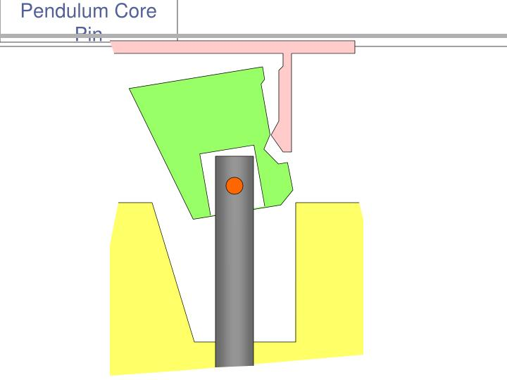 Pendulum Core Pin