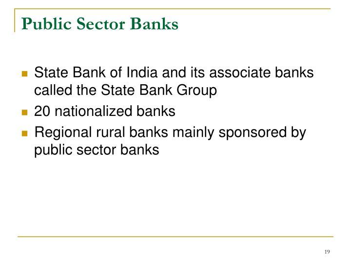 Public Sector Banks