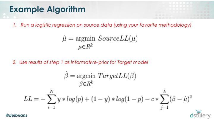 Example Algorithm