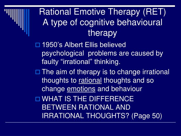 rational problem solving cognitive model