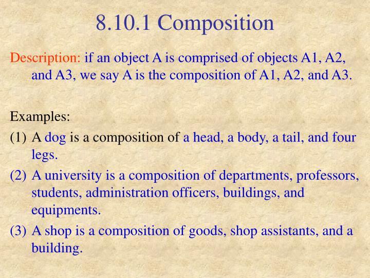 8.10.1 Composition