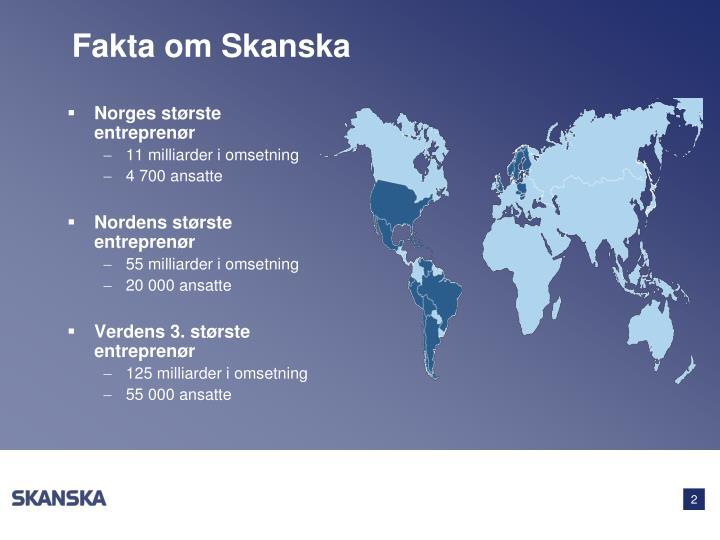 Norges største entreprenør