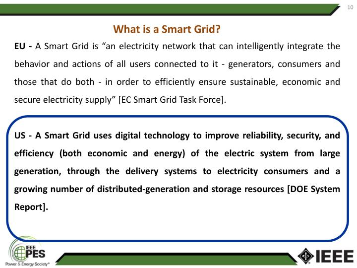 What is a Smart Grid?