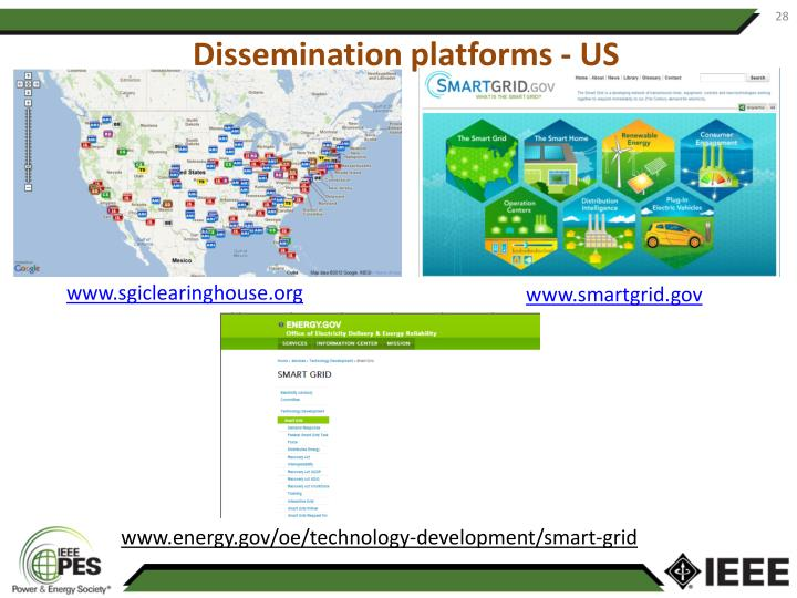 Dissemination platforms - US