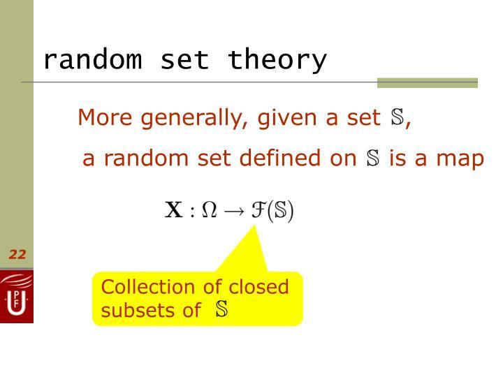 random set theory