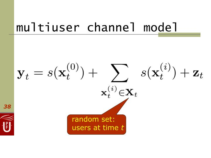 multiuser channel model
