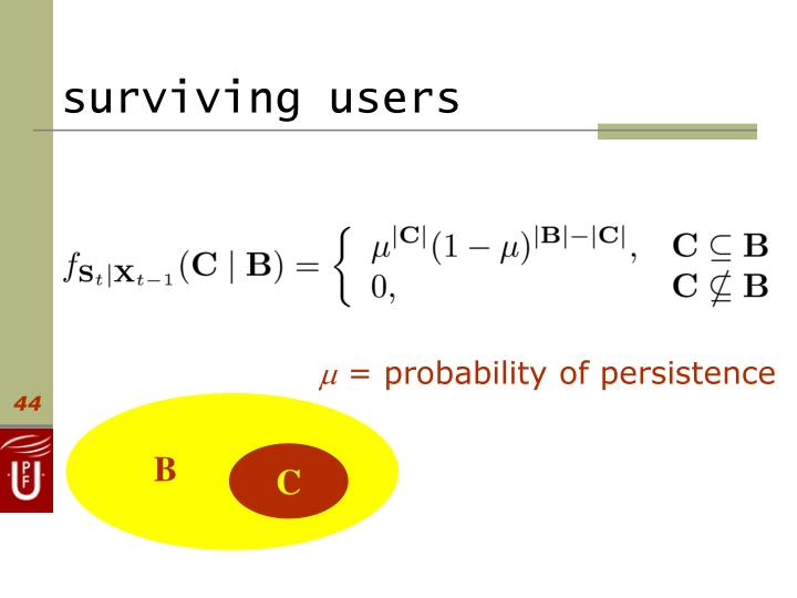 surviving users