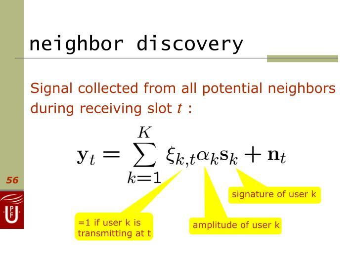 neighbor discovery