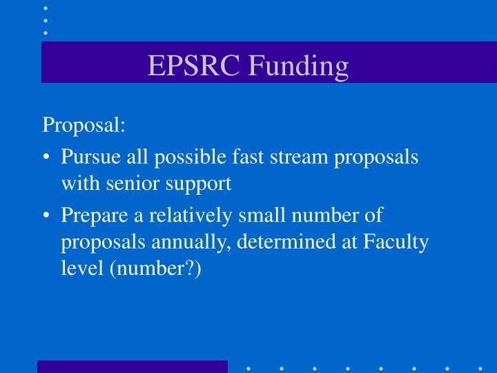 EPSRC Funding