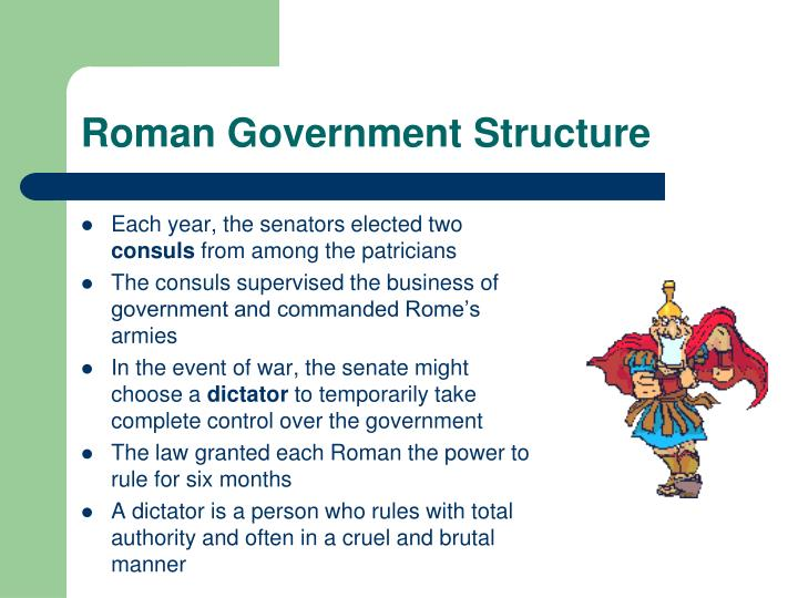 Roman Government Structure