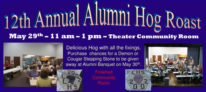 12th Annual Alumni Hog Roast