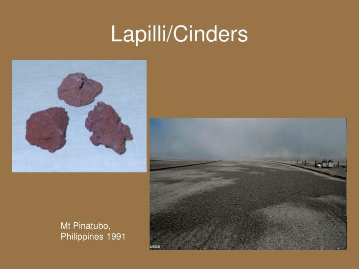 Lapilli/Cinders