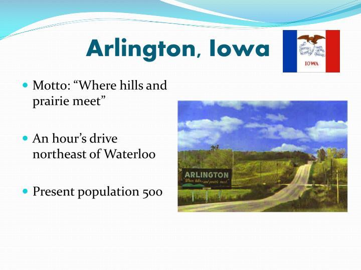 Arlington, Iowa