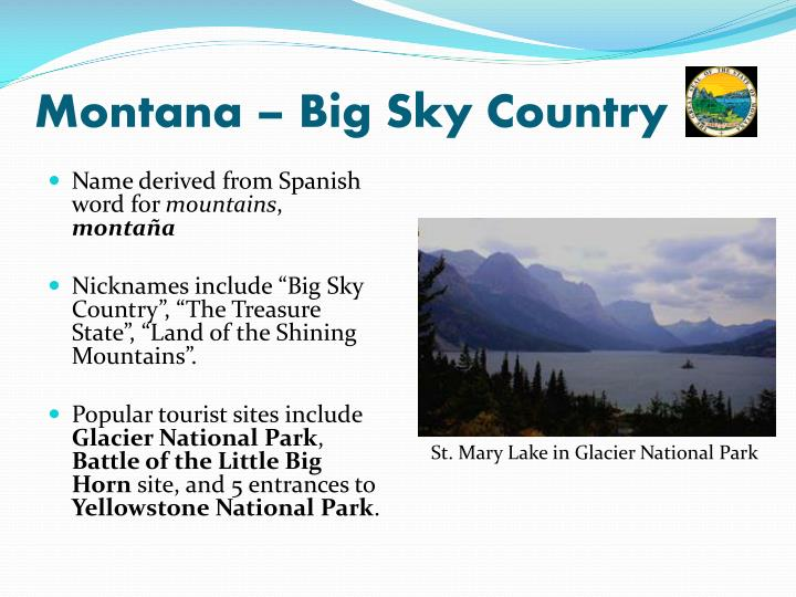 Montana – Big Sky Country