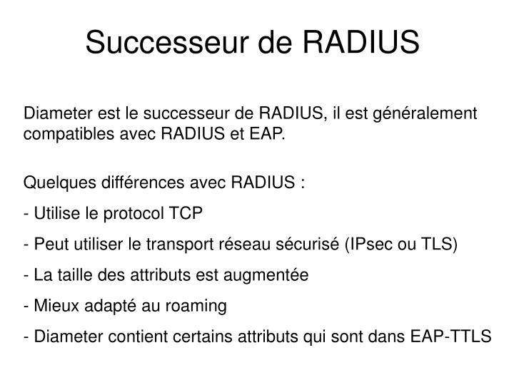 Successeur de RADIUS